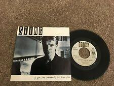 "Sting-If you love somebody set them free.7"" dutch.  the police"