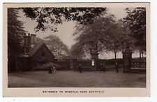 YORKSHIRE, SHEFFIELD, ENTRANCE TO NORFOLK PARK, 1915, RP