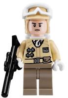 Hoth Rebel Trooper Lego Star Wars Minifigure Backpack Blaster 8083