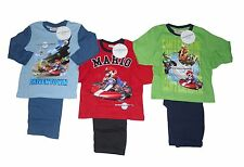 BOYS PYJAMAS OFFICIAL SUPER MARIO 3-10 YEARS OLD LONG