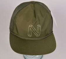 2018 NWT MENS NIXON CRATER TRUCKER HAT $23 One Size Dark Olive snapback