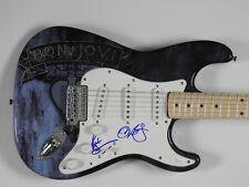 Jon Bon Jovi Richie Sambora Autograph Signed Guitar Fender JSA Stratocaster