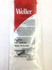 Weller Pl111 18 003 X 076 Mm Pencil Tip Plated