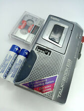 Sanyo TRC-695M Talk Book MicroCassette Voice Recorder Dictaphone Dictation
