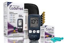 SD CodeFree Blutzuckermessgerät mit Teststreifen Set + Blutlanzetten + Tasche