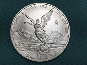 2021 Mexican Libertad Onza 1 oz Silver Uncirculated Coin