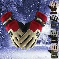 Winter Thermal Warm Fleece Lined Gloves - Bike Bicycle Cycling Fishing Windproof