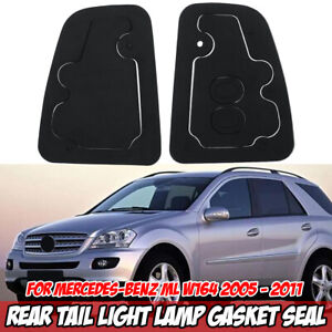For Mercedes Benz ML 2005-2011 W164 Pair Rear Tail Brake Light Lamp Gasket Seal