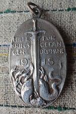 original Medaille 1915 Hilfe für Kriegsgefangene