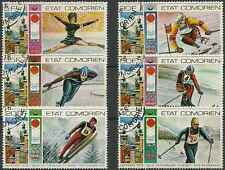 Timbres Sports d'hiver JO Comores 138/41 PA101/2 o lot 14545