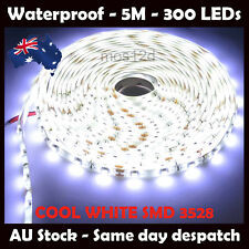 IP65 LED Strip Light Waterproof Cool White 5 metres Flexible SMD 3528