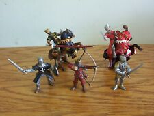 Schleich/Papo lot of Knights figures.