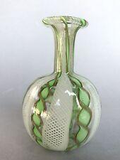 Kunst Glas Vase Flasche Zanfirico Murano Venini? Fulvio Bianconi? Venedig ~1955