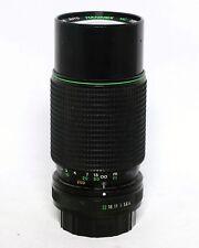 Hanimex 80-200mm 1:4.0 MC Auto Zoom Macro Lens 35mm SLR Film Pentax K mount MF