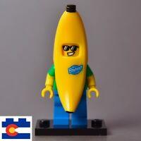 NEW LEGO Minifigure Banana Suit Guy 71013 Man Food Mascot Series 16 Sunglasses