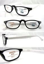 L333 Unisex Retro Reading Glasses/Funky Frame Design/Aspheric lens/Spring Hinges