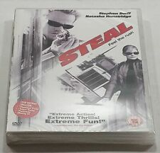 STEAL DVD (2005) PAL Region 2 Brand New Sealed - Fast Free Delivery