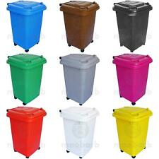 More details for 50 litre wheelie bin - choice of colours - ideal for home / office / garden