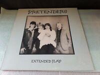 "PRETENDERS Extended Play 1981 12"" VINYL 5 Tracks Sire 3563 LP VINYL"