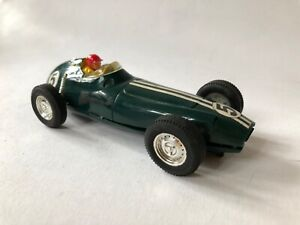 Scalextric Vintage Slot Car C89 BRM Untested ( Body shell not aligned see photo)