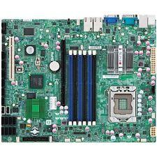 Supermicro X8STi-F X58 LGA1366 RAID 10/100/1000 LAN VGA SATA-II IPMI +I/O Blende