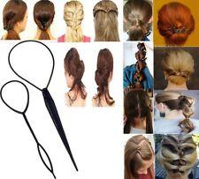 1Set (2Pc) Topsy Tail Hair Braid Ponytail Hair Maker Styling Tool FreeShip