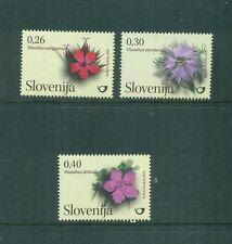 Slovenia 2010 Flowers Flora set Mnh