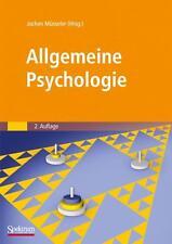 Allgemeine Psychologie, Müsseler, Jochen, 2. Aufl. 2008, ISBN 978-3-8274-1780-0