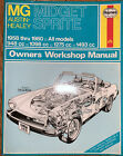 0265 Haynes MG Midget & Austin-Healey Sprite 1958 - 1980Workshop Manual