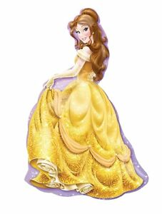 Walt Disney Princess Belle 39 Inch Tall Helium Mylar Foil Balloon Super shape XL