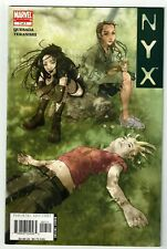NYX #7 (NM) 5th Appearance of X-23! Laura Kinney! Marvel Wolverine's Daughter!