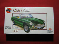 1962 MGB Special Edition 1:32 Airfix Vintage 1989 Humbrol Historic Kit Classic