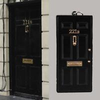US! Sherlock Holmes Baker Street NO.221B Metal Keyring Keychain Collectible Gift