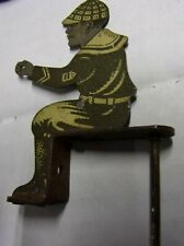 "JOCKEY FIGURE  2-5/8""    TIN  WITH BASE"