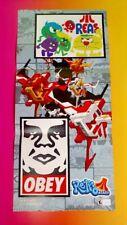 NEW OBEY Retro Atari - Nintendo Power Original RARE Poster Wii DS PS2 PS3 XBOX