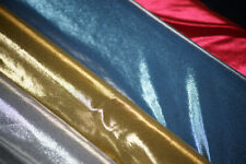 Craft-Dress-Dance Costume Fabric-METALLIC 4 WAY STRETCH LYCRA-Metres-SEWING BEE
