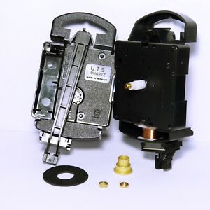 New UTS Quartz German Euroshaft Pendulum Clock movement mechanism 16mm shaft
