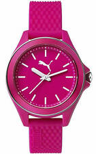 Women's Puma Diamond Pink Silicone Watch PU104062003