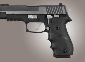 Hogue Sig Sauer P220 American Recoil Absorbing Rubber Pistol Grip-Black-20000