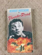 Thunder Road- Robert Mitchum-VHS-very rare- Nice shape -Take a look  Now wow-14a