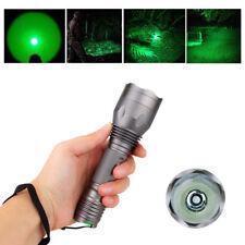 250 Yards Green light LED Flashlight for Hunting Coyote Hog Pig Varmint Predator