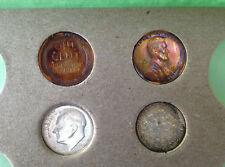 1955-PDS United States Silver Mint Set 22 Coins Original Gem BU M1457