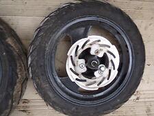 roue jantes avant  12 pouces avec pneus bhm 50 x five gy6 12 pouces
