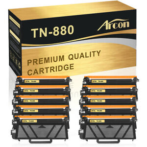10-PK TN880 Toner Compatible for Brother HL-L6200DW L6250DW MFC-L6700DW L6750DW