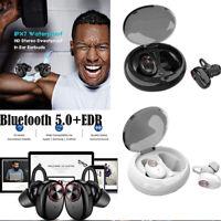 Bluetooth 5.0 Headset Mini TWS Twins V5 Wireless In-Ear Stereo Earphones Earbuds