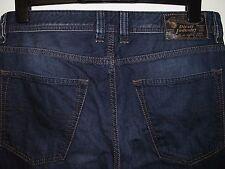 Diesel Larkee-comodidad relajada-Lavado De Jeans de calce recto 0818N W32 L30 (a2332)