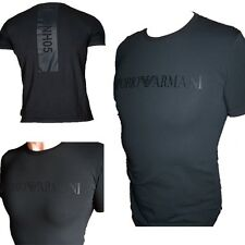 Emporio ARMANI EA Chest Logo Men's Blue T-shirt Muscle Fit Size M*l*xl B475 L
