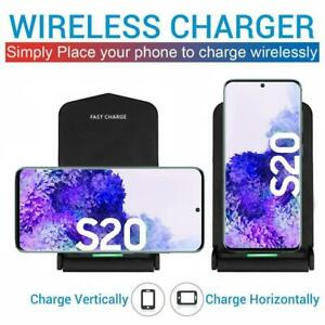 Qi Wireless Charging Stand for Samsung Galaxy S20 S20 Plus S20 Ultra