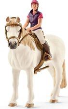 - SHL42359 - Figurines de l'univers des chevaux - Cavalière Amatrice avec Cheval