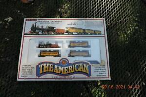 Bachmann N Scale The American 4-4-0 Jupiter  Locomotive Union Pacific Box Set